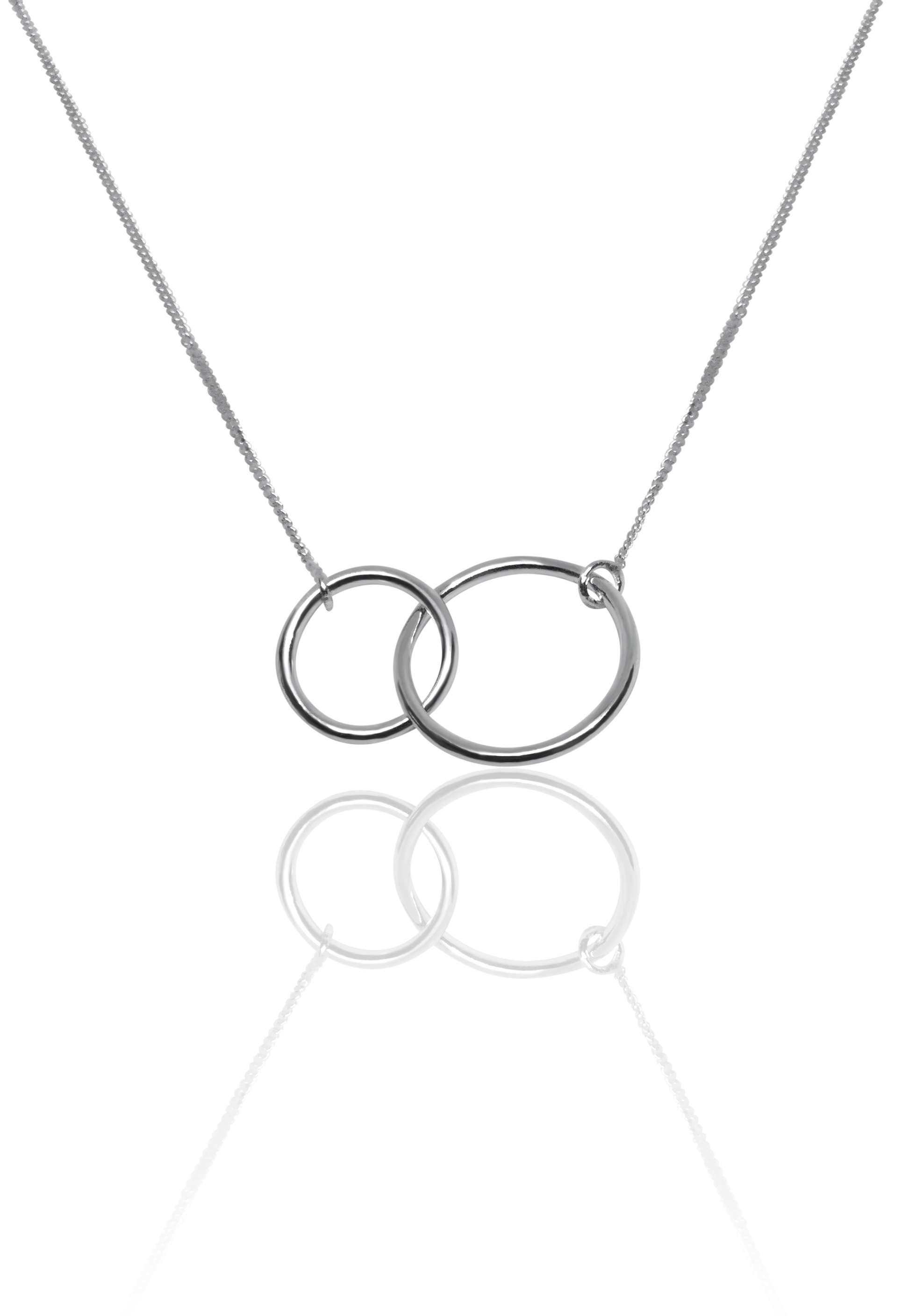 Connection Silver necklace