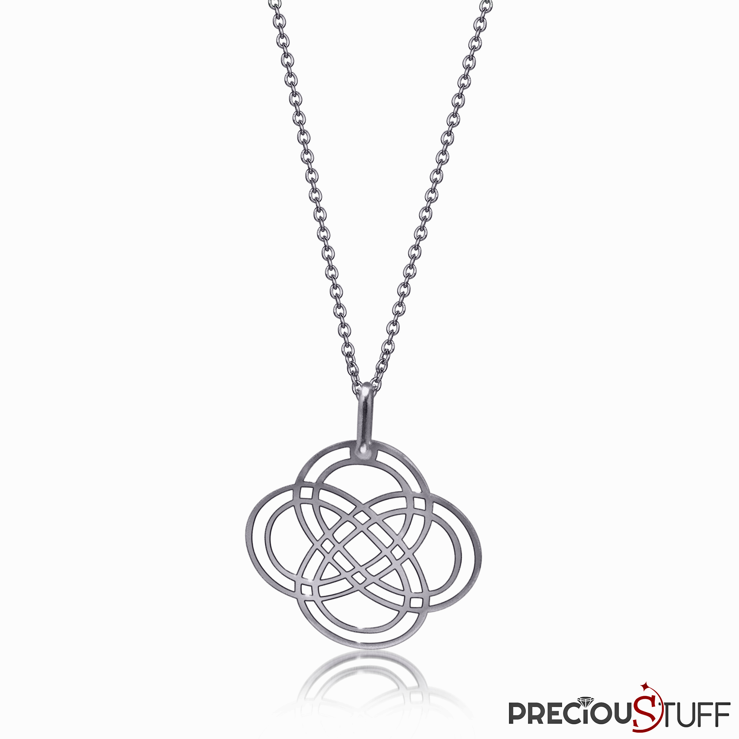 Infinite style Silver Necklace